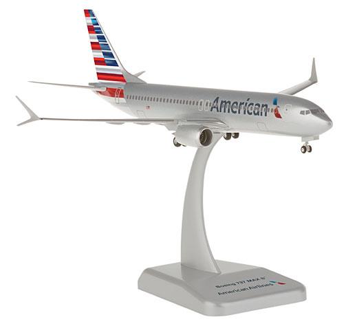 American Airlines - Boeing 737 MAX 8 - 1:200 - Premium model