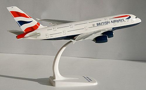 Herpa Snap Wings 1:250 Airbus A 380-800 British Airways