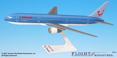 Britannia - Boeing 767-300 - 1/200 - Airplane Models