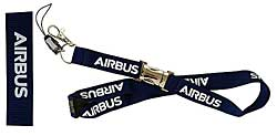 Airbus Lanyard with metal clip