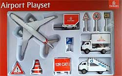 Emirates B777 Airport Play Set 12 pieces