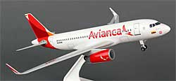 Avianca - Airbus A319 - 1:150 - Premium model