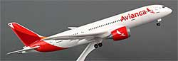 Avianca - Boeing 787-8 - 1/200 - Premium model