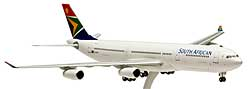 SAA South African Airways - Airbus A340-300 - 1/200 - Premium model