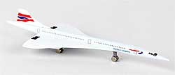 British Airways Concorde Die Cast Toy Metal Model